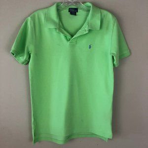 Boy's green Polo by Ralph Lauren, size LG (16/18)